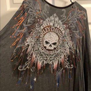 Harley flowy tunic wrap